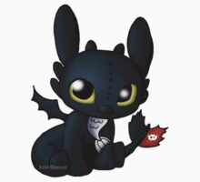 Chibi Toothless One Piece - Short Sleeve