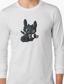 Chibi Toothless Long Sleeve T-Shirt
