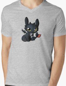 Chibi Toothless Mens V-Neck T-Shirt