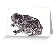 Toad (Halloween 2012) Greeting Card