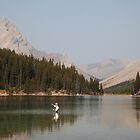 Elbow lake fishing II by zumi