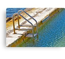 Manly Lagoon Canvas Print