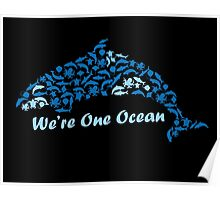 We're One Ocean Poster