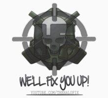 HaloFix Skull Logo 2 by SinCitySpartan