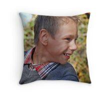 Grayson Profile Throw Pillow