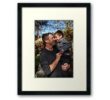 Adoring Grayson Framed Print