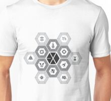 EXO - Hexagons (For Light Colours) Unisex T-Shirt