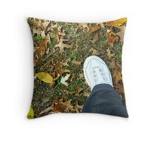 Resolution - To Get Outside and Walk More Throw Pillow