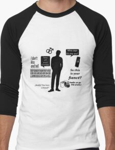 Best of Connor Walsh Quotes Men's Baseball ¾ T-Shirt