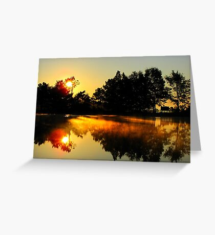 Lakefire Greeting Card