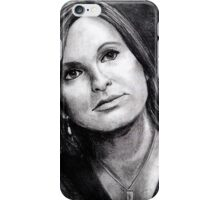 Olivia Benson Law and Order SVU iPhone Case/Skin
