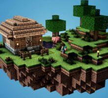 Minecraft Land Sticker