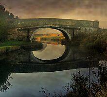 Canal Bridge  by Irene  Burdell