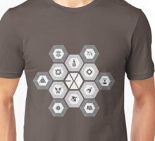 EXO - Hexagons (For Dark Colours) Unisex T-Shirt