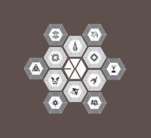 EXO - Hexagons (For Dark Colours) Unisex T-Shirt