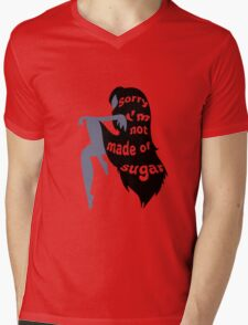 Not Made of Sugar Mens V-Neck T-Shirt