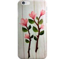 εїз✿♥Magnolia Stems on the Wood Grain Wallpaper iPhone & iPod Cases♥✿εїз iPhone Case/Skin