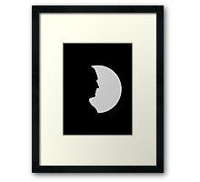ninth doctor shadow Framed Print