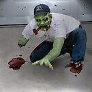 Zombie Pipe Smokers - 'Dan' by ADzArt