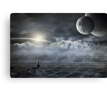 Silent Rise Canvas Print