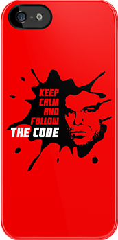 Dexter: Keep calm and follow the code by dutyfreak