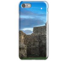 Pevensey Castle ruins iPhone Case/Skin