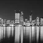 Perth City Lights by HPG  Images