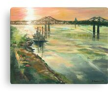 Flowing Home Canvas Print