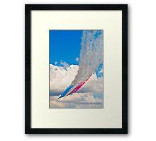 RedArrows Framed Print