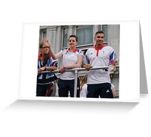 Louis Smith Silver And Bronze London 2012 Greeting Card