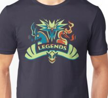 LEGENDS - Silver Unisex T-Shirt