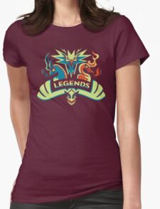 LEGENDS - Silver Womens Fitted T-Shirt