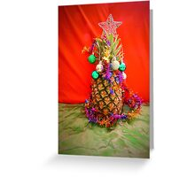 Pineapple Christmas Greeting Card