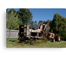 The new tractor Canvas Print