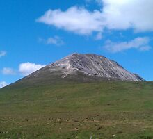 Mount Errigal- Donegal,Ireland by DES PALMER