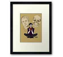 Sherlock & Friends Framed Print