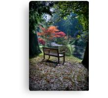 Meditation Seat Canvas Print