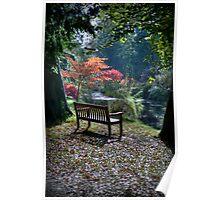 Meditation Seat Poster
