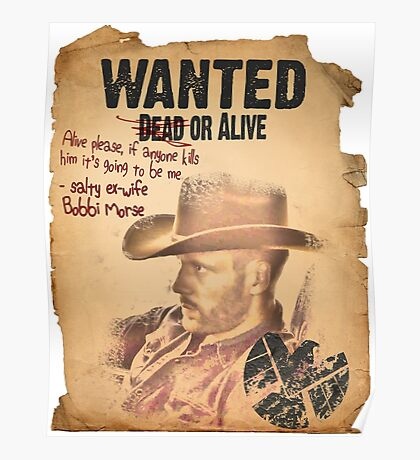 Cowboy Lance Hunter Wanted Poster