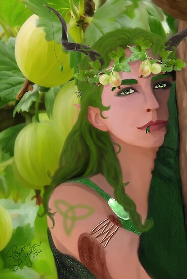 The Gooseberry Ghost by Rowan  Lewgalon