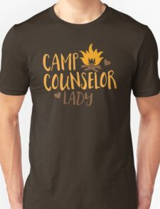 Camp Counselor Lady Unisex T-Shirt