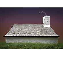 Cottage in Wales Photographic Print