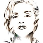 Madonna portrait by wu-wei