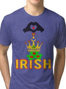 ㋡♥♫Love Irish Fantabulous Clothing & Stickers♪♥㋡ Tri-blend T-Shirt
