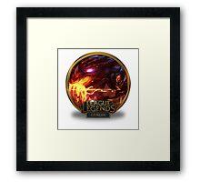 Braum Dragonslayer - League of Legends Framed Print