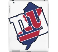 NJ - Giants iPad Case/Skin