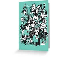 Help Doodle  Greeting Card
