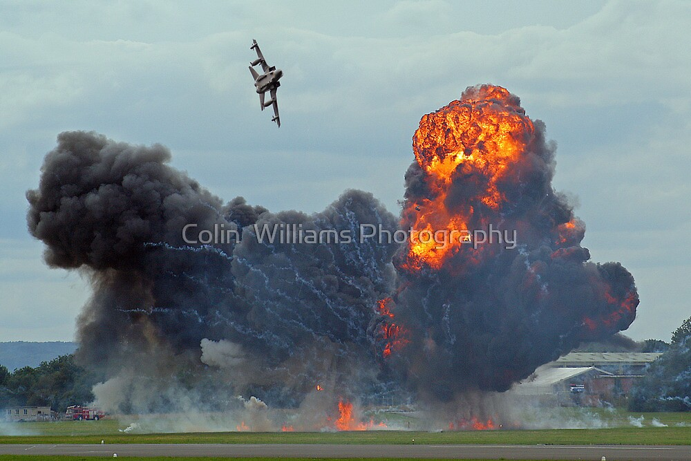 Tornado GR4 Role Demo - Dunsfold 2012 by Colin  Williams Photography