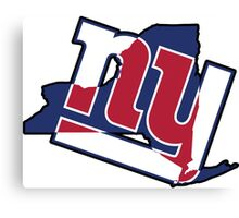 NY - Giants Canvas Print