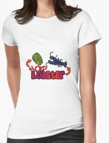 Hop Lobster Womens Fitted T-Shirt